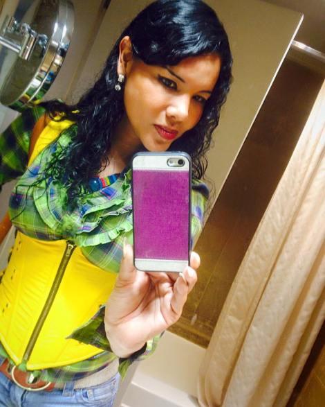 Diane Rodríguez - Activista Transexual LGBT de Ecuador - Selfie