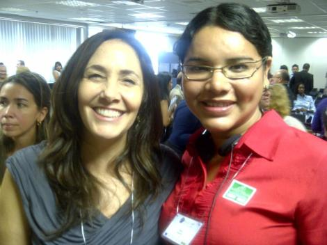 Diane Rodriguez con Mariana Castro