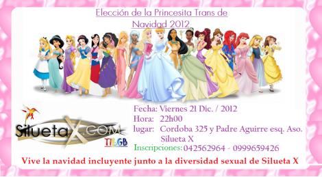 Elección princesita de navidad Trans