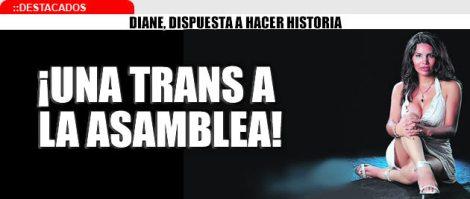 asamblea trans diane rodriguez quiere ser asambleista transexual