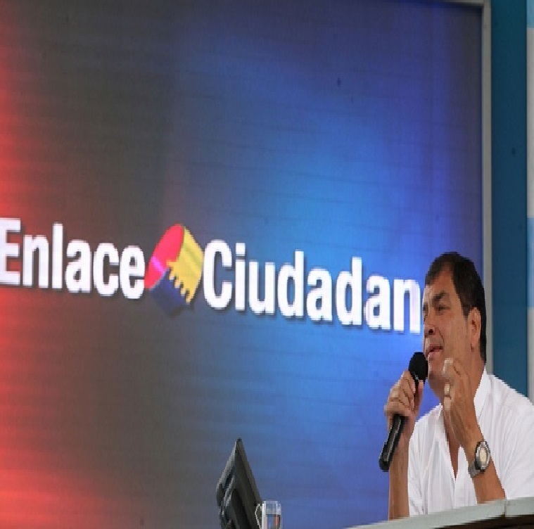 Correa anuncia defensa de derechos de grupos GLBT-Siluetax-DianeRodriguez