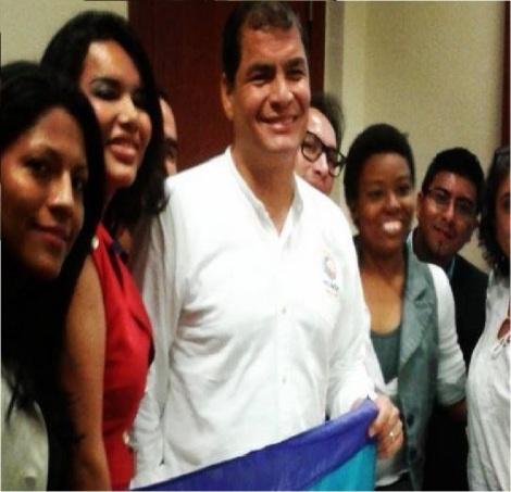 Histórico encuentro entre el presidente de Ecuador y colectivo GLBTI permitirá avanzar en la reivindicación de derechos-Siluetax-DianeRodriguez