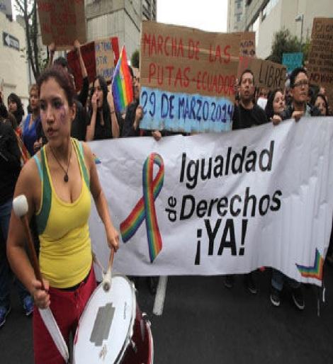 Colectivos en contra del machismo marcharon en Quito-Siluetax-DianeRodriguez