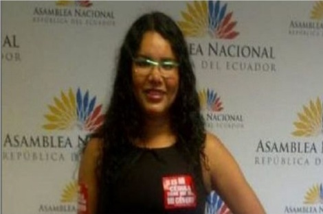 Diane Rodriguez Si defender derechos nos va a costar ir a la cárcel bueno pues lo haré con gusto-SiluetaX