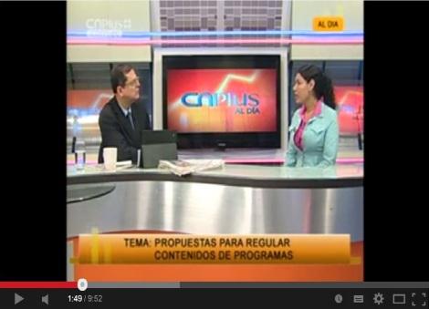 Entrevista a Diane Rodríguez Tema Propuestas para regular contenidos de programas-SiluetaX