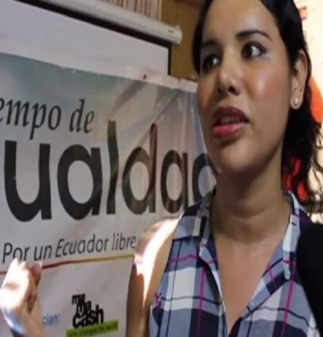 SILUETA X PRESENTARÍA QUERELLA ANTE SUPERCOM CONTRA LA PAREJA FELIZ POR DISCRIMINACIÓN-Siluetax-DianeRodriguez