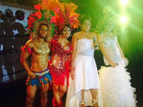 Orgullo y diversidad sexual 2014 - orgullo glbti - orgullo gay guayaquil - asociación silueta x con Diane Marie Rodríguez Zambrano  (2)
