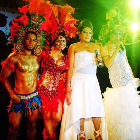 Orgullo y diversidad sexual 2014 - orgullo glbti - orgullo gay guayaquil - asociación silueta x con Diane Marie Rodríguez Zambrano  (3)