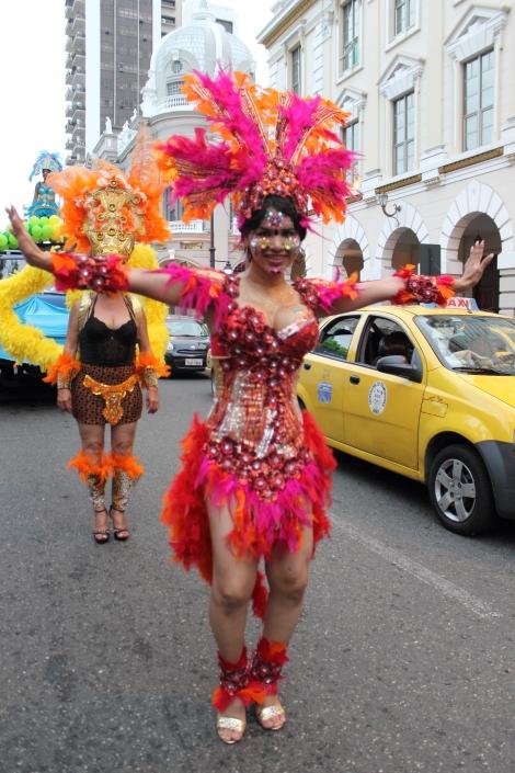 trans transexual transgénero travesti Diane Marie Rodríguez Zambrano en Orgullo y diversidad sexual 2014 - orgullo gay - orgullo glbti guayaquil 1