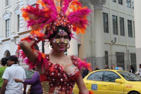 trans transexual transgénero travesti Diane Marie Rodríguez Zambrano en Orgullo y diversidad sexual 2014 - orgullo gay - orgullo glbti guayaquil 3