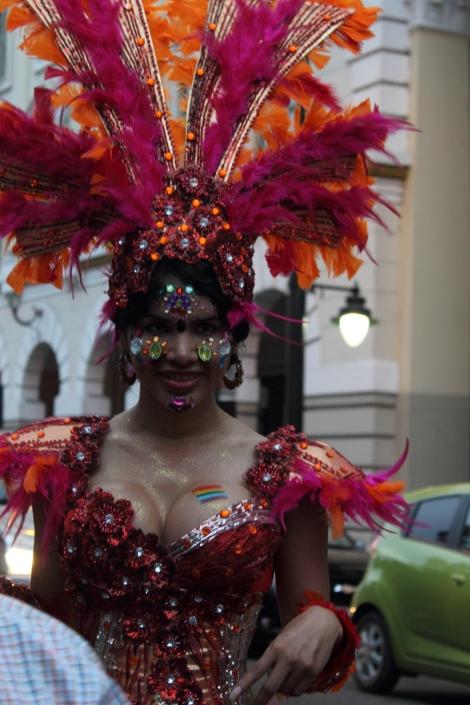 trans transexual transgénero travesti Diane Marie Rodríguez Zambrano en Orgullo y diversidad sexual 2014 - orgullo gay - orgullo glbti guayaquil 5