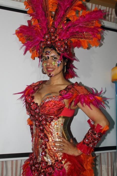 trans transexual transgénero travesti Diane Marie Rodríguez Zambrano en Orgullo y diversidad sexual 2014 - orgullo gay - orgullo glbti guayaquil