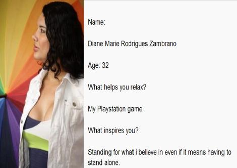 Voy a defender lo que creo incluso si eso significa tener que estar sola-Silueta X-DianeRodriguez