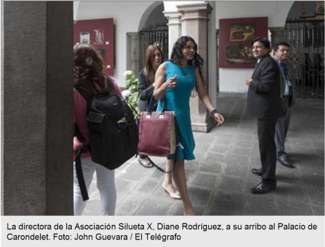 Organizaciones GLBTI esperan concretar acuerdos con el Gobierno-SiluetaX-DianeRodriguez