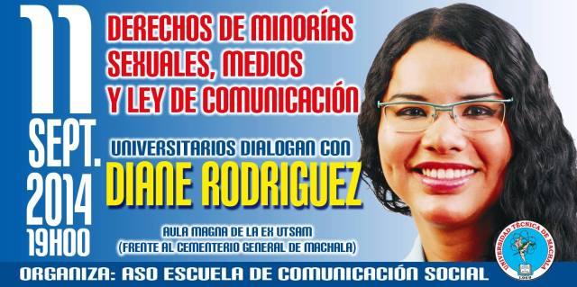Derechos de minorias sexuales, medios y ley de comunicación  - Diane rodríguez