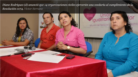GLBTI defienden uniones de hecho-SiluetaX-DianeRodriguez