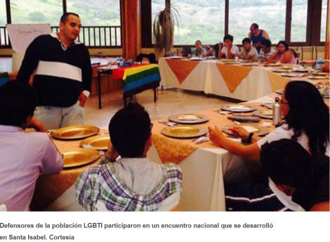 Colectivos LGBTI definen estrategias para el 2015