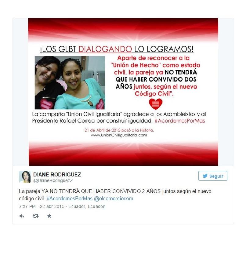 Ecuador Se aprobó la unión homosexual como estado civil_Siluetax_DianeRodriguez
