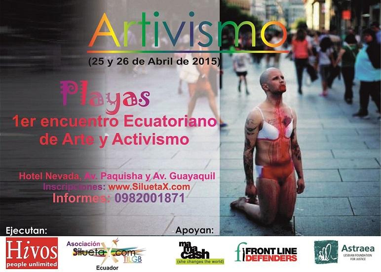 Primer encuentro Nacional Ecuatoriano artivista - arte y activismo de poblaciones LGBT