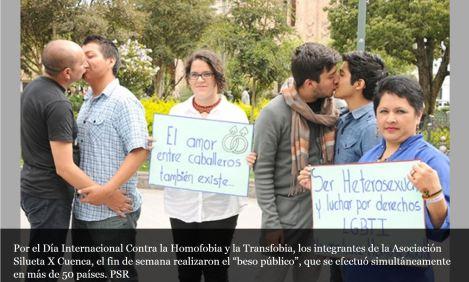 Aún se discrimina a los homosexuales -SiluetaX