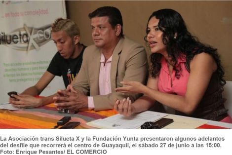 En Guayaquil la comunidad Glbti se alista para el desfile del Orgullo Gay -SiluetaX-DianeRodriguez