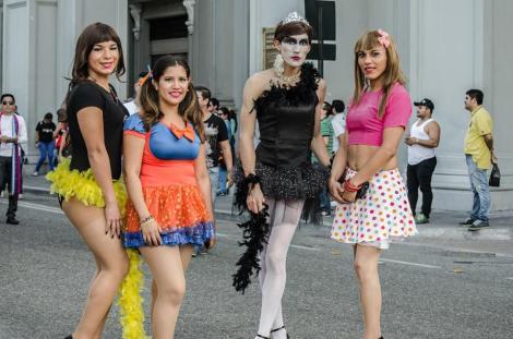 Orgullo LGBT Gay Ecuador Guayaquil 2015 - Asociación Silueta X (120)