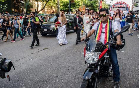 Orgullo LGBT Gay Ecuador Guayaquil 2015 - Asociación Silueta X (3)