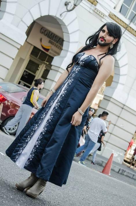 Orgullo LGBT Gay Ecuador Guayaquil 2015 - Asociación Silueta X (64)