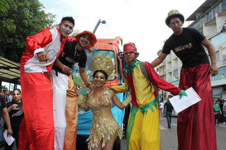 Orgullo LGBT Gay Ecuador Guayaquil 2015 - Asociación Silueta X con Diane Rodríguez DianeRodriguezz  (19)