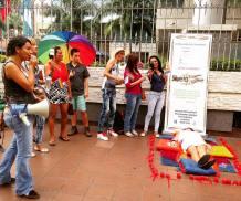 Planton en conmemoración 18 años despenalización de la homosexualidad en Ecuador - 25 de Noviembre 2015 - Silueta X (3)