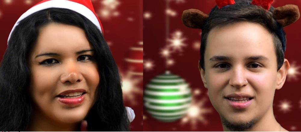 Diane Rodríguez y Fernando Machado desean feliz navidad y próspero 2016 a LGBT y resto de personas