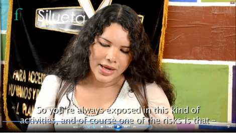 Diane Rodriguez - Front Line Defenders Award 2015