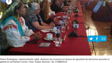 Colectivos Lgbti mantienen una reunión con el Presidente