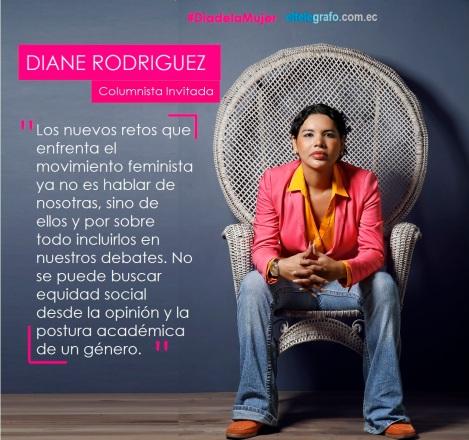 Diane Rodriguez Zambrano - Dia de la Mujer