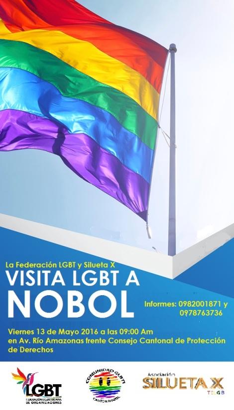 La Federación y Silueta X visitan comunidad LGBTI de Nobol