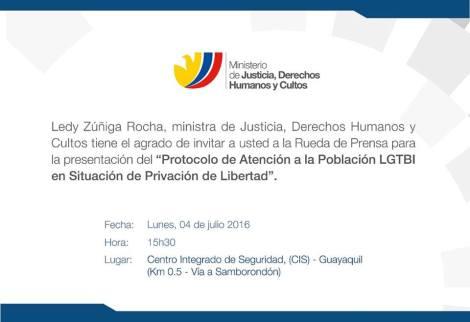 Convocatoria a presentación de Protocolo de pPL LGBT