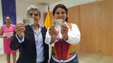 Transexuales logran la sustitución de sexo por genero en la cedula en Ecuador (5)