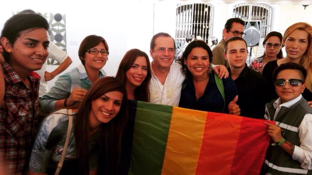 federacion-ecuatoriana-de-organizaciones-lgbti-con-raul-patino-y-diane-rodriguez