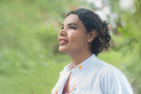 Diane Rodríguez Zambrano primera asambleista o diputada al congreso nacional abiertamente transexual LGBT en Ecuador GLBTI
