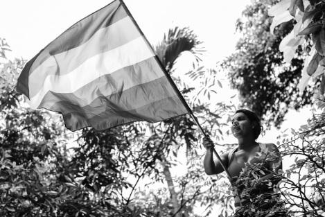 Diane Rodriguez transgenero transexual activista y defensora derechos lgbt glbti en ecuador y LAC - silueta x - federación ecuatoriana de organizaciones lgbti