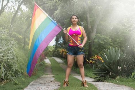 Diane Rodriguez transgenero transexual activista y defensora derechos lgbt glbti en ecuador y latino america - silueta x - federación ecuatoriana de organizaciones lgbti