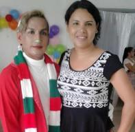 Agasajo Navideño a niños con enfermedades catastroficas y VIH con transexual diane rodriguez - Asociación LGBT Silueta X - Ecuador (1)