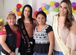 Agasajo Navideño a niños con enfermedades catastroficas y VIH con transexual diane rodriguez - Asociación LGBT Silueta X - Ecuador (2)