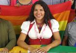 Diane Marie Rodriguez zambrano, transgenero transexual, activista en derechos humanos por las poblaciones LGBTI