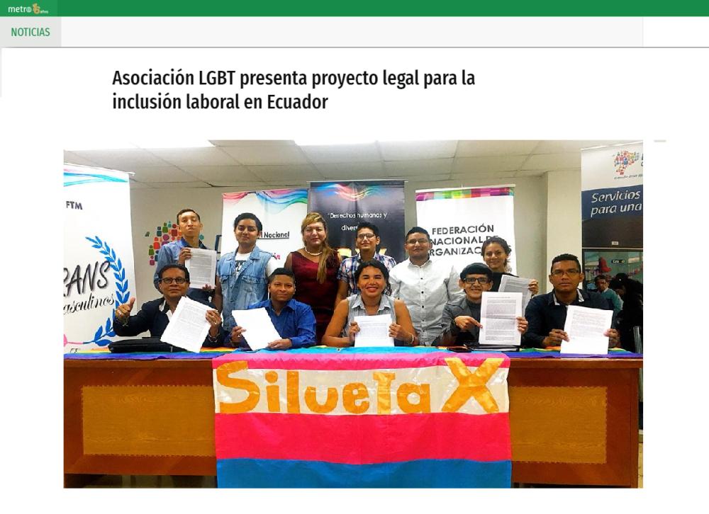 Asociación LGBT presenta proyecto legal para la inclusión laboral en Ecuador-Federacion Ecuatoriana LGBTI-Plataforma Revolucion Trans-Transmasculinos Ecuador-Asociacion Silueta X-Camara de Comercio LGBT de Ecuador.png