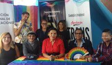 La Federación Ecuatoriana de Organizaciones LGBTI a traves de la Asociación Silueta X presentó el Estudio de percepción ciudadana de avances o retrocesos GLBT Diane Rodriguez