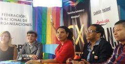 La Federación Ecuatoriana de Organizaciones LGBTI a traves de la Asociación Silueta X presentó el Estudio de percepción ciudadana de avances o retrocesos LGBT Diane Rodriguez Z