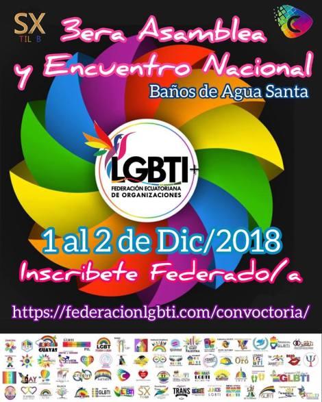 3encuentro nacional_ federacion de organizaciones lgbt ecuador