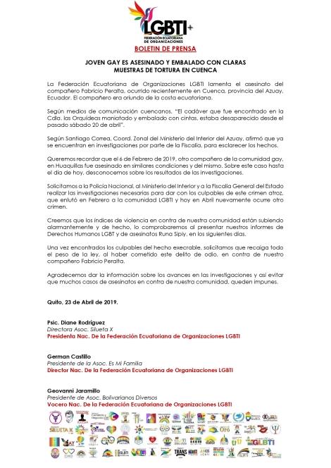JOVEN-GAY-ES-ASESINADO-Y-EMBALADO-CON-CLAROS-INDICIOS-DE-TORTURA-EN-CUENCA-Federación-Ecuatoriana-de