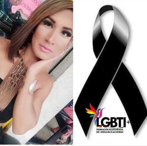 Muerte violenta de mujer trans en Duran - abril del 2019 - Federación Ecuatoriana de Organizaciones LGBT